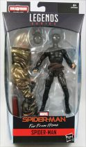 "Marvel Legends - Far From Home Spider-Man ""Stealth Suit\"" - Serie Hasbro (Molten Man)"