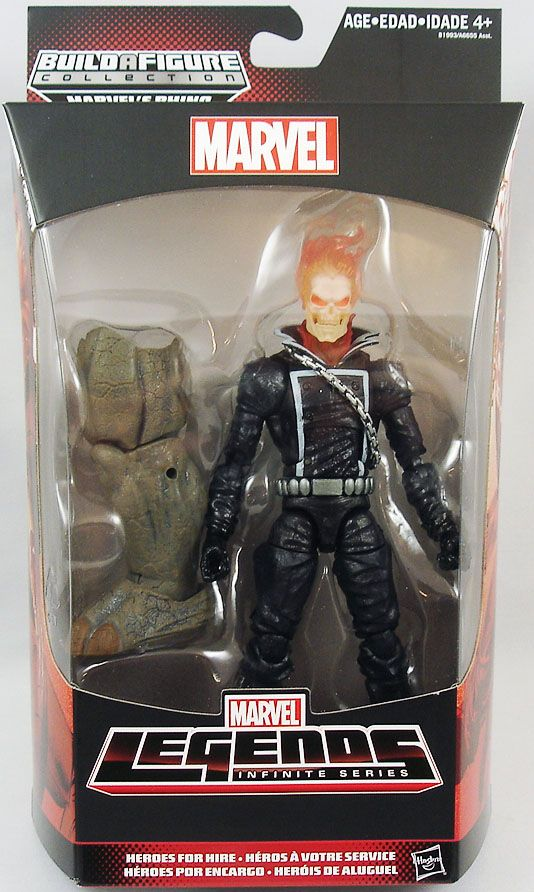 Marvel Legends - Ghost Rider - Serie Hasbro (Rhino)