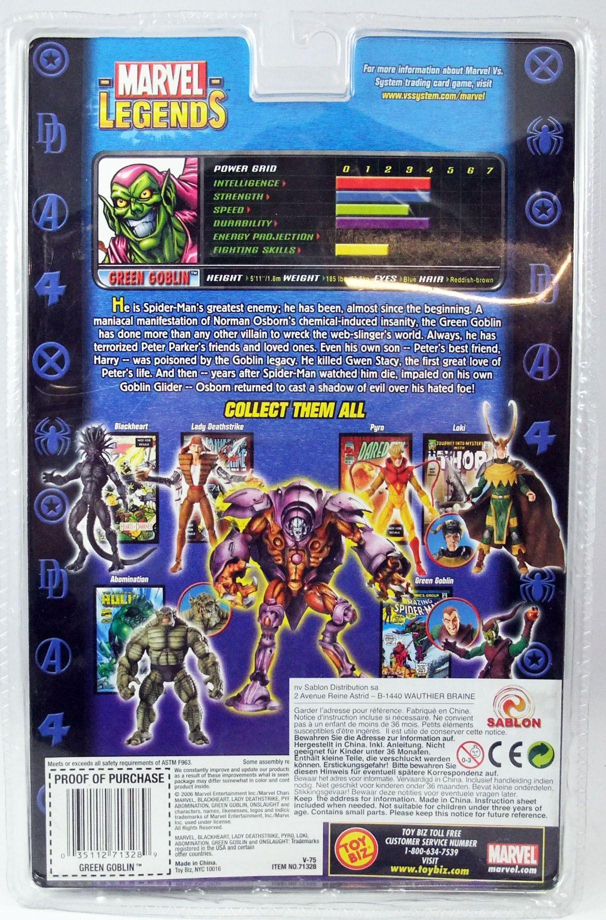 Marvel Legends - Green Goblin - Serie 13 Onslaught Serie