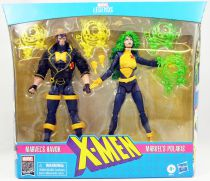 Marvel Legends - Havok & Polaris - Serie Hasbro