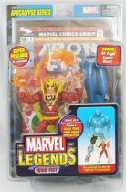 "Marvel Legends - Iron Fist \""red costume variant\"" - Series 12 Apocalypse"