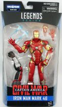 "Marvel Legends - Iron Man Mark 46 ""Civil War\"" - Serie Hasbro (Giant-Man)"