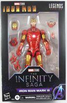 Marvel Legends - Iron Man Mark III (The Infinity Saga) - Serie Hasbro