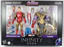 Marvel Legends - Iron Man Mark LXXXV & Thanos (The Infinity Saga) - Serie Hasbro