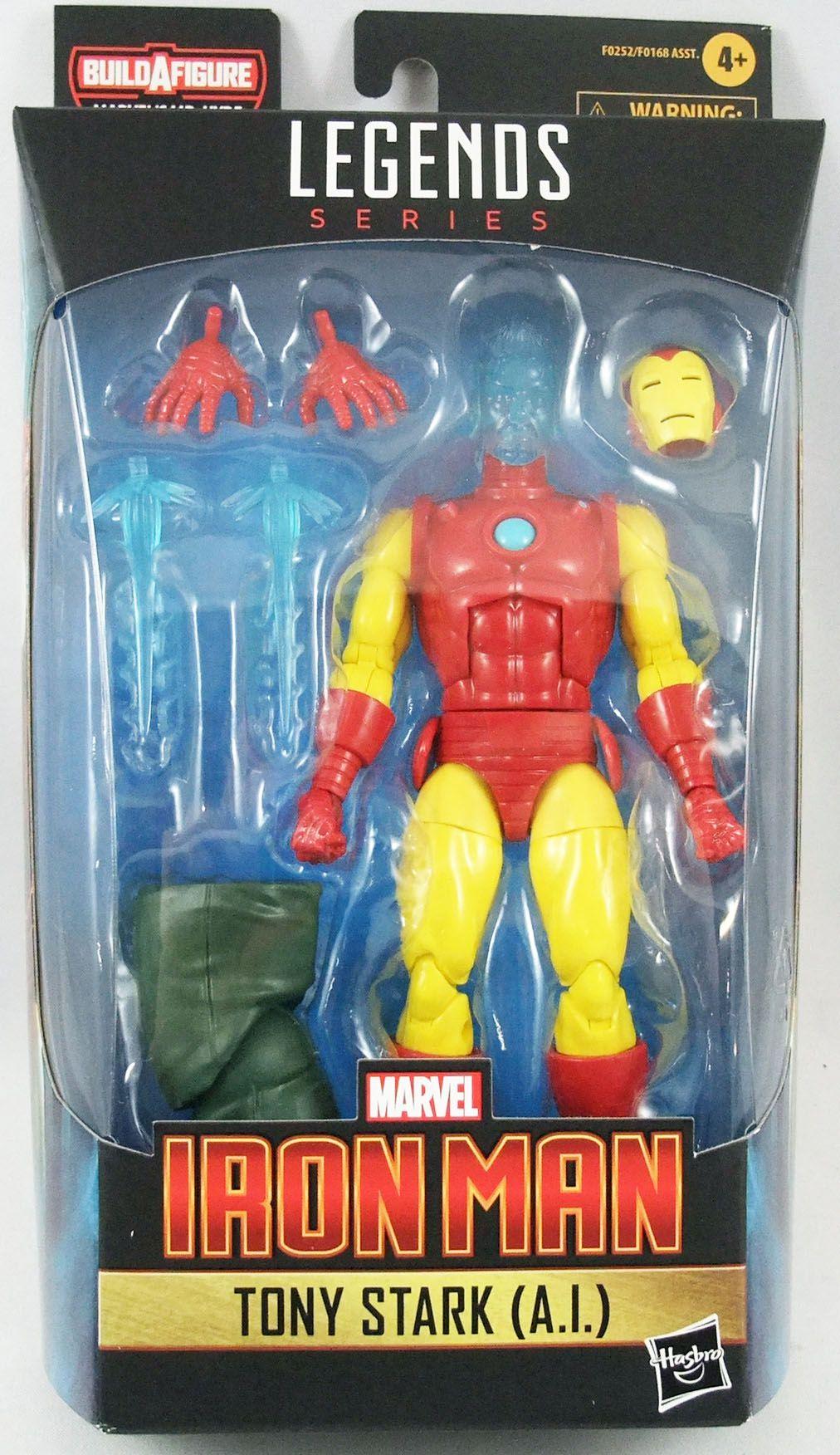 Marvel Legends - Iron Man Tony Stark (A.I.) - Serie Hasbro (Mr. Hyde)
