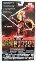 Marvel Legends - Lady Deadpool - Serie Hasbro (Sauron)