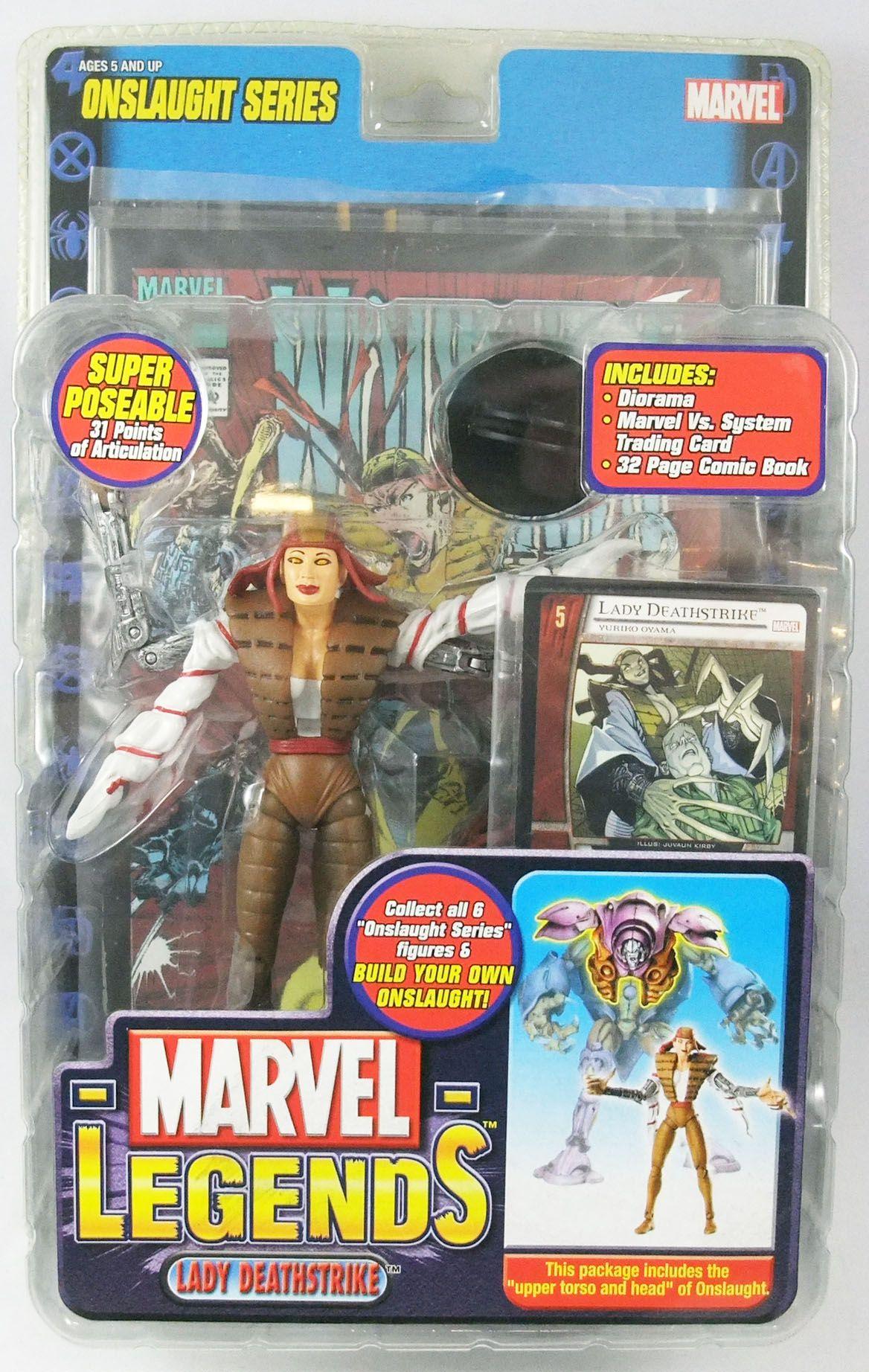 Marvel Legends - Lady Deathstrike - Serie 13 Onslaught Serie