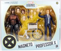 Marvel Legends - Magneto & Professor X (X-Men Movies) - Serie Hasbro