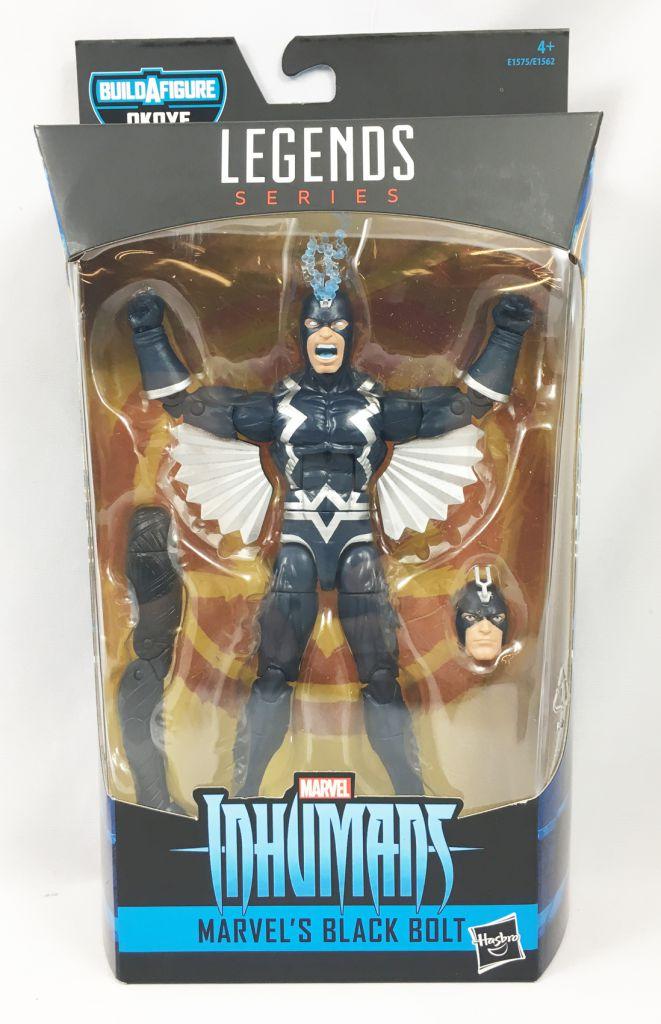 Marvel Legends - Marvel\'s Black Bolt (Inhumans) - Series Hasbro (Okoye)