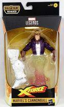 Marvel Legends - Marvel\'s Cannonball (X-Force) - Série Hasbro (Wendigo)