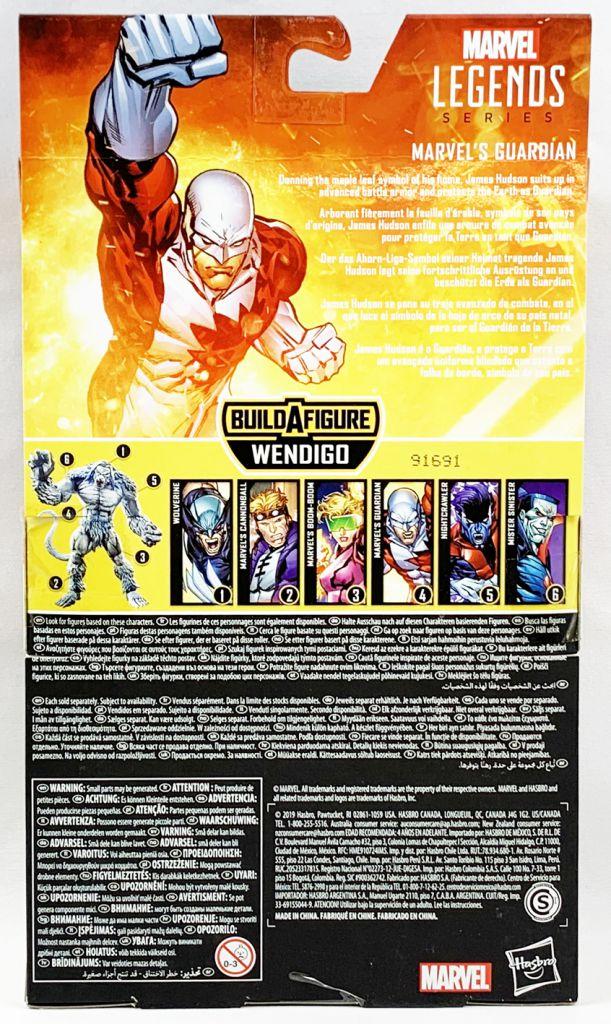 Marvel Legends - Marvel\'s Guardian (Alpha Flight) - Série Hasbro (Wendigo)