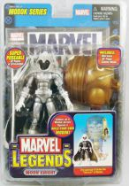 "Marvel Legends - Moon Knight ""white costume variant\"" - Series 15 M.O.D.O.K. Serie"