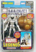 "Marvel Legends - Moon Knight \""white costume variant\"" - Series 15 M.O.D.O.K. Serie"