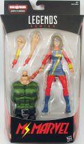 "Marvel Legends - Ms. Marvel \""Kamala Khan\"" - Serie Hasbro (Sandman)"