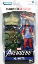 """Marvel Legends - Ms. Marvel \""""Kamala Khan\"""" - Series Hasbro (Abomination)"""
