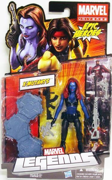 Marvel Legends - Mystique - Series Hasbro (Epic Heroes)