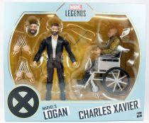 "Marvel Legends - Old Logan & Charles Xavier \""X-Men Movies\"" - Serie Hasbro"