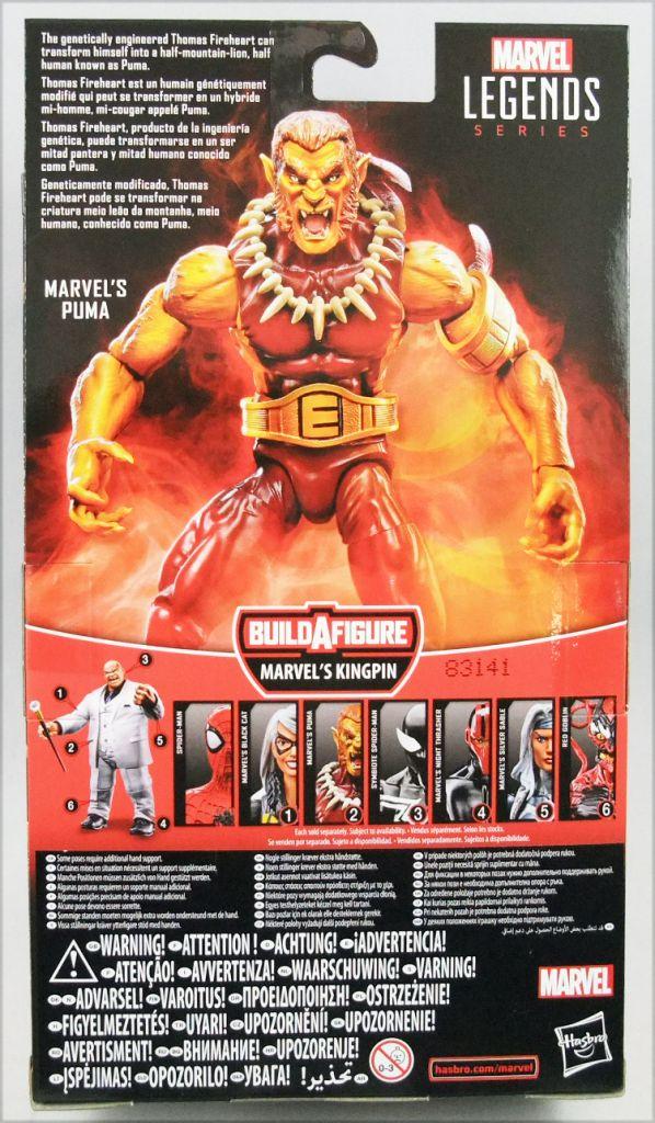Marvel Legends - Puma - Serie Hasbro (Kingpin)