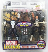 Marvel Legends - Punisher & Jigsaw - Série Face-Off