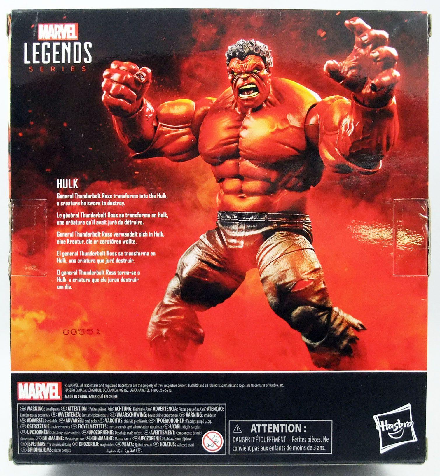 Marvel Legends - Red Hulk - Serie Hasbro (Exclusive)