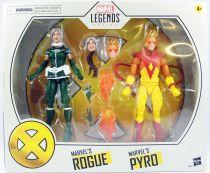 Marvel Legends - Rogue & Pyro - Serie Hasbro