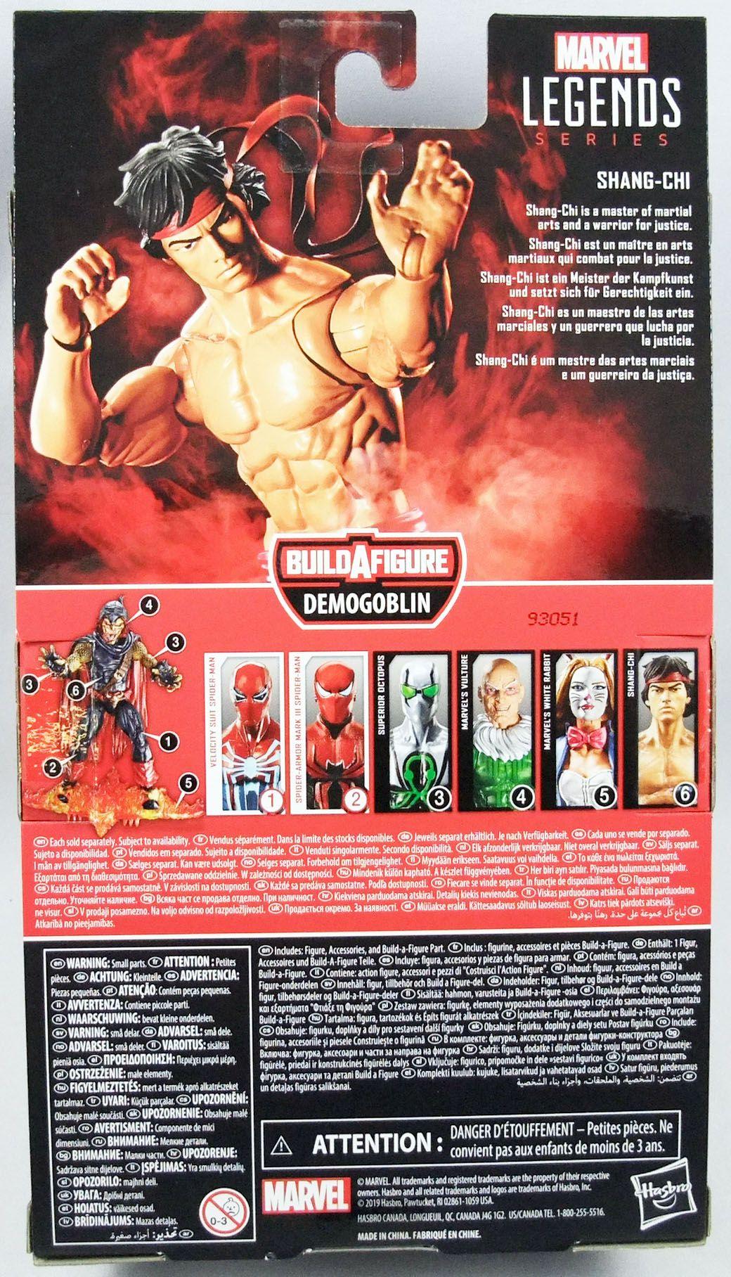 Marvel Legends - Shang-Chi Master of Kung Fu - Serie Hasbro (Demogoblin)