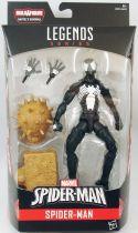 "Marvel Legends - Spider-Man \""Black Costume\"" - Serie Hasbro (Sandman)"