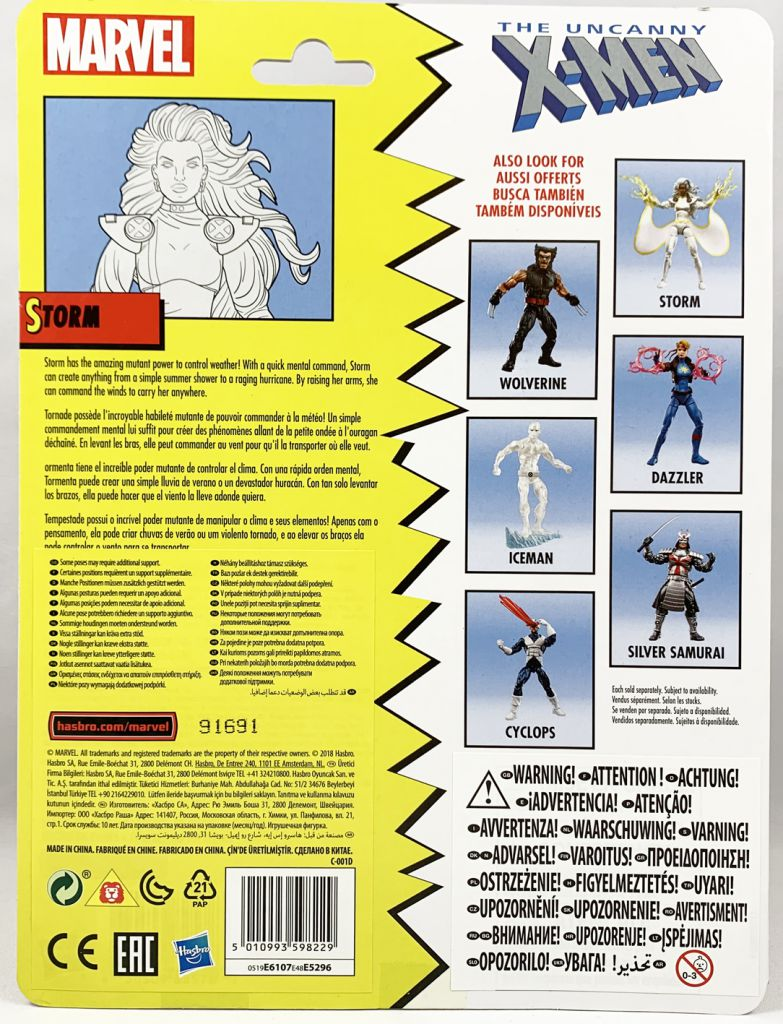 Marvel Legends - Storm (Uncanny X-Men) - Series Hasbro