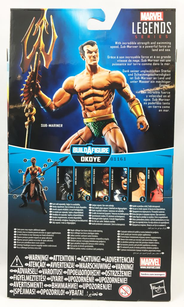 Marvel Legends - Sub-Mariner - Series Hasbro (Okoye)