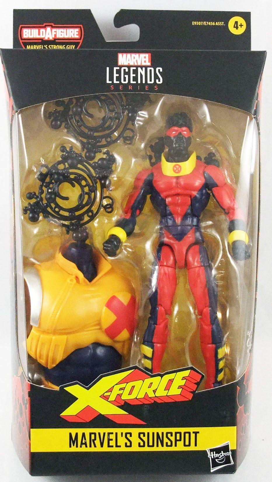 Marvel Legends - Sunspot - Serie Hasbro (Strong Guy)