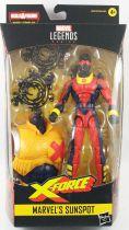 Marvel Legends - Sunspot - Series Hasbro (Strong Guy)