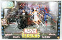 Marvel Legends - Urban Legends set : Daredevil, Punisher, Elektra, Spider-Man - ToyBiz
