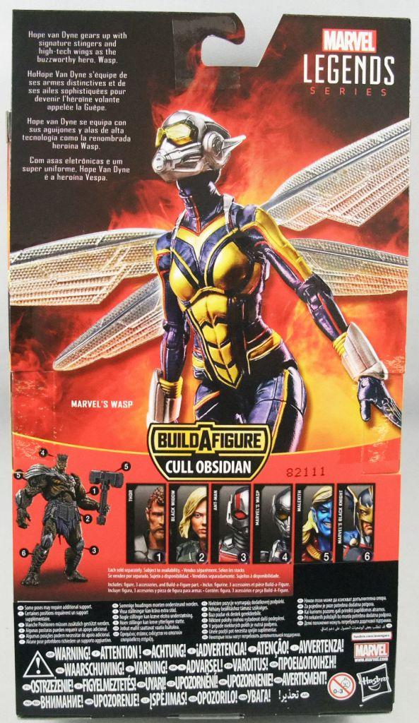 Marvel Legends - Wasp - Serie Hasbro (Cull Obsidian)