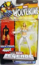 Marvel Legends - White Queen Emma Frost - Serie Hasbro (Puck)