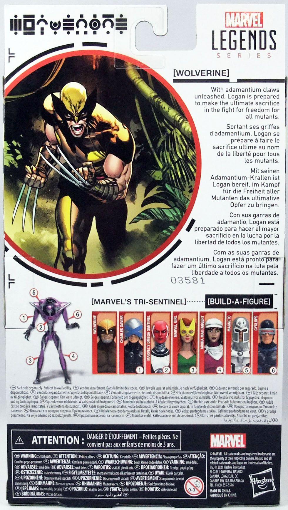 Marvel Legends - Wolverine - Serie Hasbro (Tri-Sentinel)