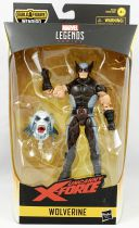 Marvel Legends - Wolverine (Uncanny X-Force) - Série Hasbro (Wendigo)