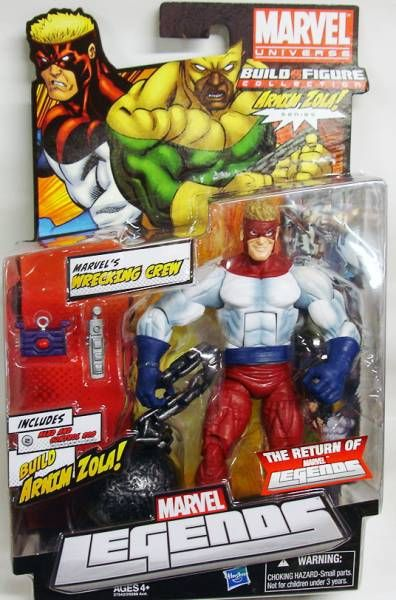 Marvel Legends - Wrecking Crew\'s Piledriver - Serie Hasbro (Arnim Zola)