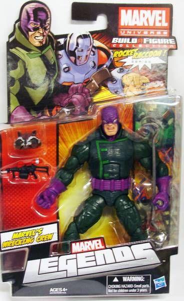 Marvel Legends - Wrecking Crew\'s Wrecker - Serie Hasbro (Rocket Raccoon)