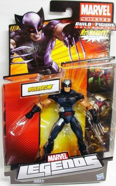 Marvel Legends - X-Force Wolverine - Serie Hasbro (Hit Monkey)