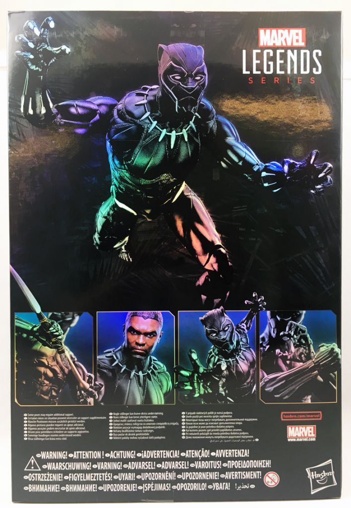 Marvel Legends Icons - Black Panther - Figurine 30cm
