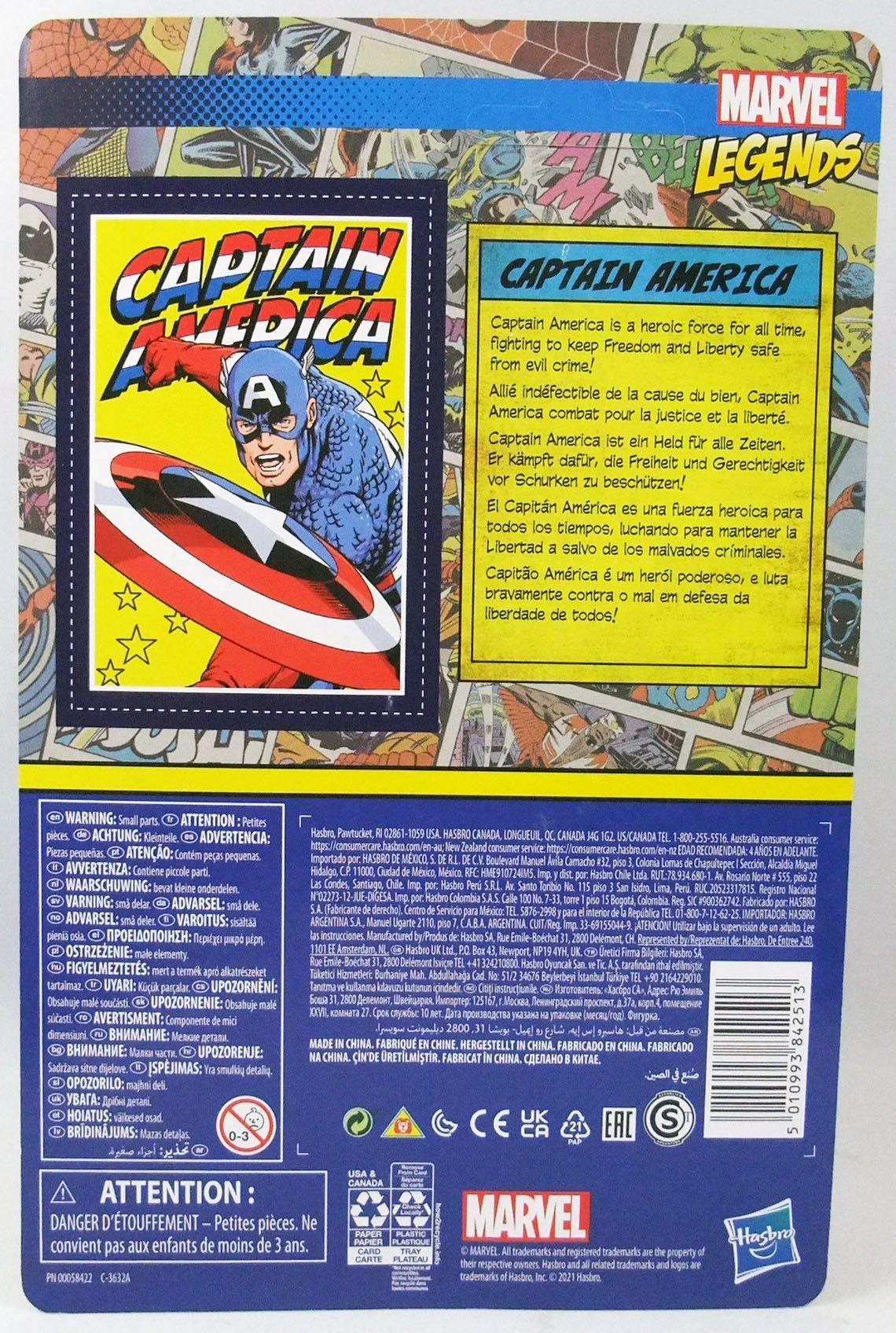 Marvel Legends Retro Collection - Kenner - Captain America
