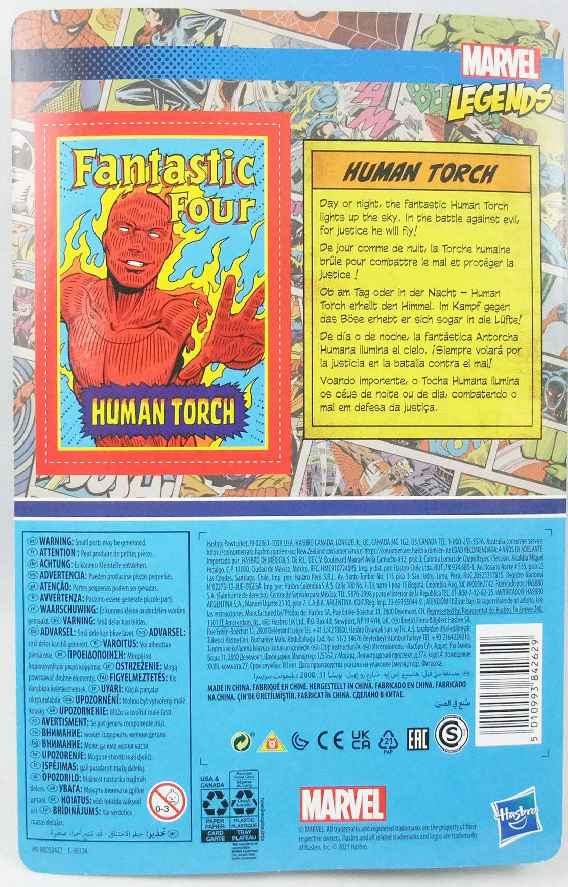 Marvel Legends Retro Collection - Kenner - Human Torch