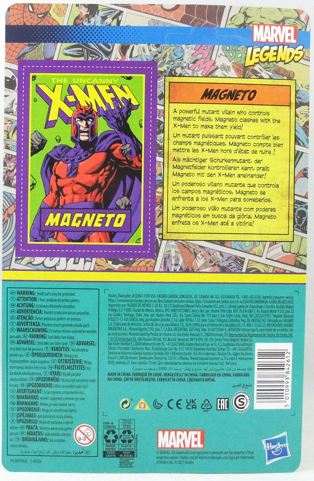 Marvel Legends Retro Collection - Kenner - Magneto