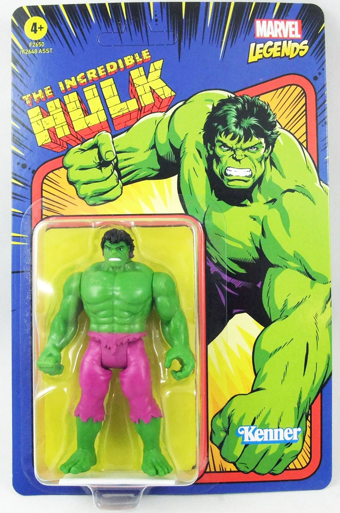 Marvel Legends Retro Collection - Kenner - The Incredible Hulk