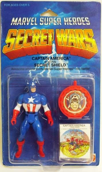 Marvel Secret Wars - Captain America (USA card)