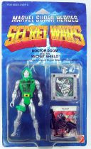 Marvel Secret Wars - Doctor Doom (USA card) - Mattel