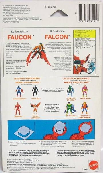 Marvel Secret Wars - Falcon (Europe card)