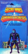 Marvel Secret Wars - Kang the Conqueror (loose with cardback) - Mattel