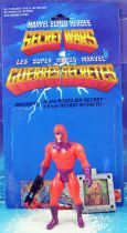 Marvel Secret Wars - Magneto (loose with cardback) - Mattel