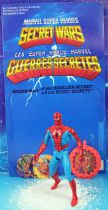 Marvel Secret Wars - Spider-Man (loose with cardback) - Mattel